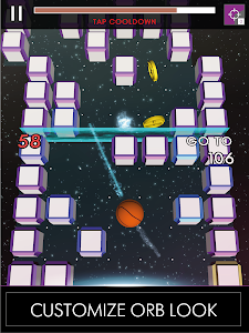 screenshot of Wandering Orb - Unique Endless Runner version 1.1.0