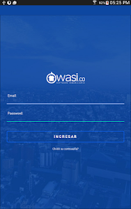 screenshot of Wasi - Software inmobiliario version 1.7.8
