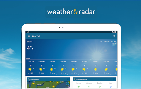screenshot of Weather & Radar USA version Varies with device