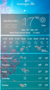 screenshot of Weather forecast version 48