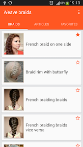 screenshot of Weave braid version 2.0.1