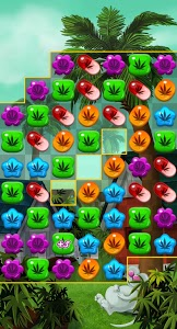 screenshot of Weed Match 3 Candy Jewel - Crush cool puzzle games version 5.06