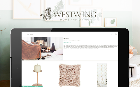 screenshot of Westwing Home & Living version 1.10.34