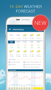 screenshot of Weather & Radar - Free version 4.35.0