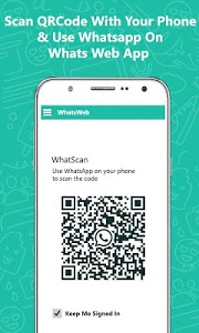 screenshot of Whatz Scan: QR Whats Web Chat version 1.0.7