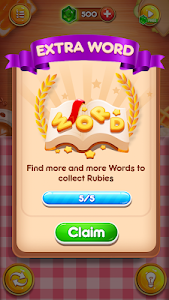 screenshot of Word Connect Appetite - Wonders and Words Puzzle version 0.4