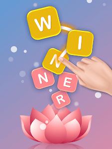 screenshot of Word Flower - Connect Cross Word Game version 0.1.4