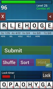 screenshot of Word Game 2 version 1.5.8