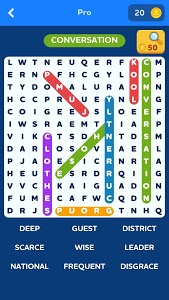 screenshot of Word Search Quest version 1.12