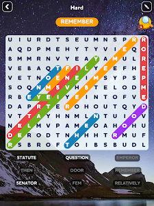 screenshot of Word Search Quest version 1.37