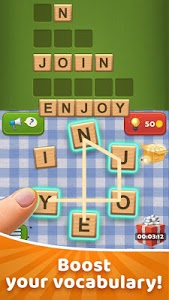 screenshot of Word Sauce: Free Word Connect Puzzle version 1.121.2