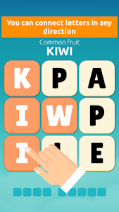 screenshot of Word Swipe - Connect the Scrambled Mystery Words version 2.0.7