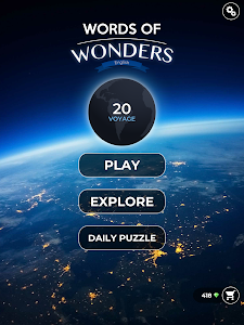 screenshot of Words Of Wonders version 1.1.403