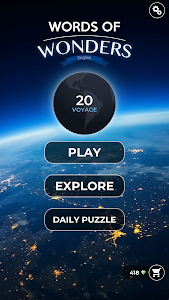 screenshot of Words of Wonders: Crossword to Connect Vocabulary version 1.9.5M