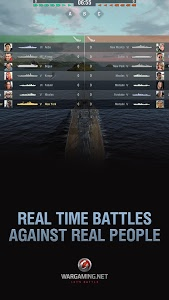 screenshot of World of Warships Blitz version 0.7.4