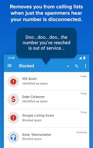 screenshot of YouMail - Spam Call Protection & Voicemail version 4.5.2b