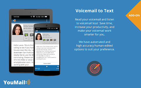 screenshot of YouMail: Voicemail Replacement version 3.22.0