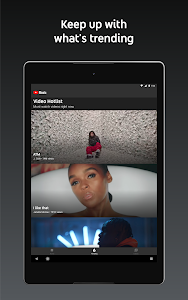 screenshot of YouTube Music version Varies with device