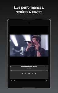 screenshot of YouTube Music - Stream Songs & Music Videos version Varies with device