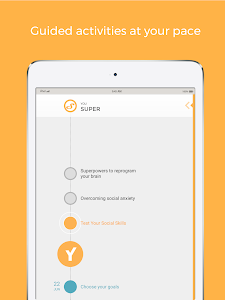 screenshot of Youper: Anxiety Assistant version 4.06.005
