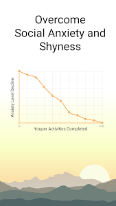 screenshot of Youper Social Anxiety Shyness version 2.4.010