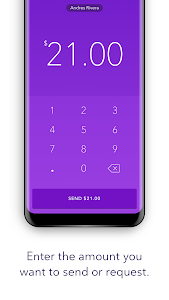 screenshot of Zelle version 3.3.2