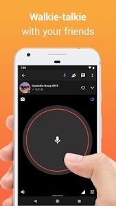 screenshot of Zello PTT Walkie Talkie version 4.64