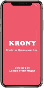 screenshot of KRONY-Employee Management App, Complete mobile CRM version 1.37