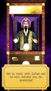 screenshot of Zoltar fortune telling 3D version 1.8.0