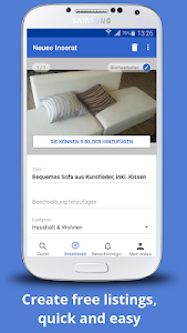 screenshot of anibis.ch – Free classifieds for Switzerland version 6.1.2