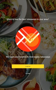 screenshot of hungryhouse Takeaway Delivery version 4.3.5
