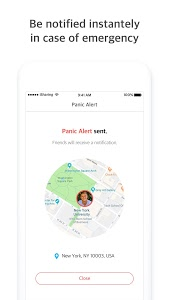 screenshot of Find My Friends & Family by iSharing version 8.3.3.3