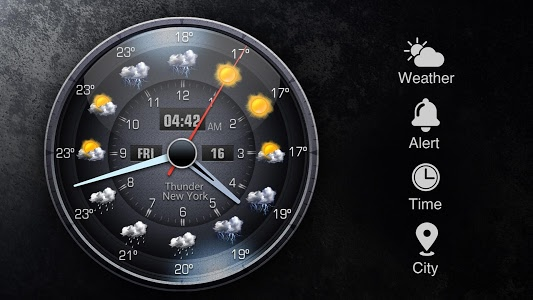 screenshot of OS Style Daily live weather forecast version 16.1.0.47680_47680
