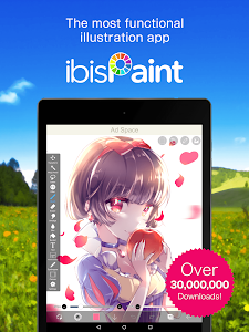 screenshot of ibis Paint X version 5.5.11