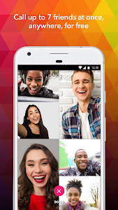 screenshot of ooVoo Video Calls, Messaging & Stories version 4.2.1