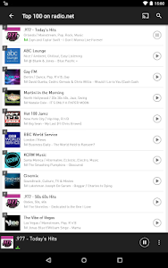 screenshot of radio.net - Tune in to more than 30,000 stations version 4.9.3