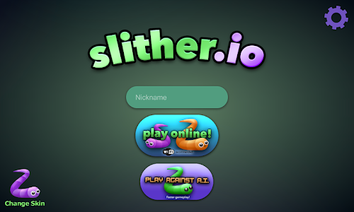 screenshot of slither.io version 1.2.8