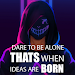 Download \ud83d\udd25Anonymous Attitude Quotes| Wallpaper|Cool Status 1.3 APK